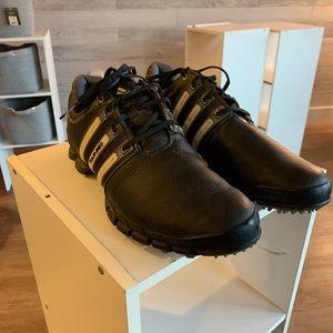 Adidas Black Golf Shoe